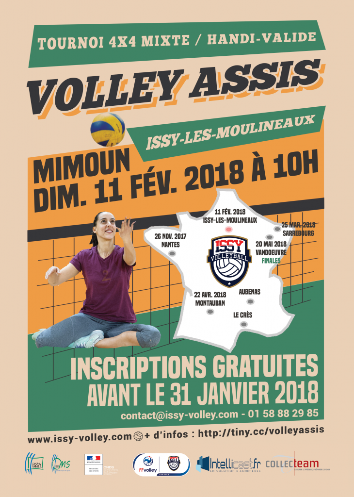 Volley assis : le Challenge France à Issy !