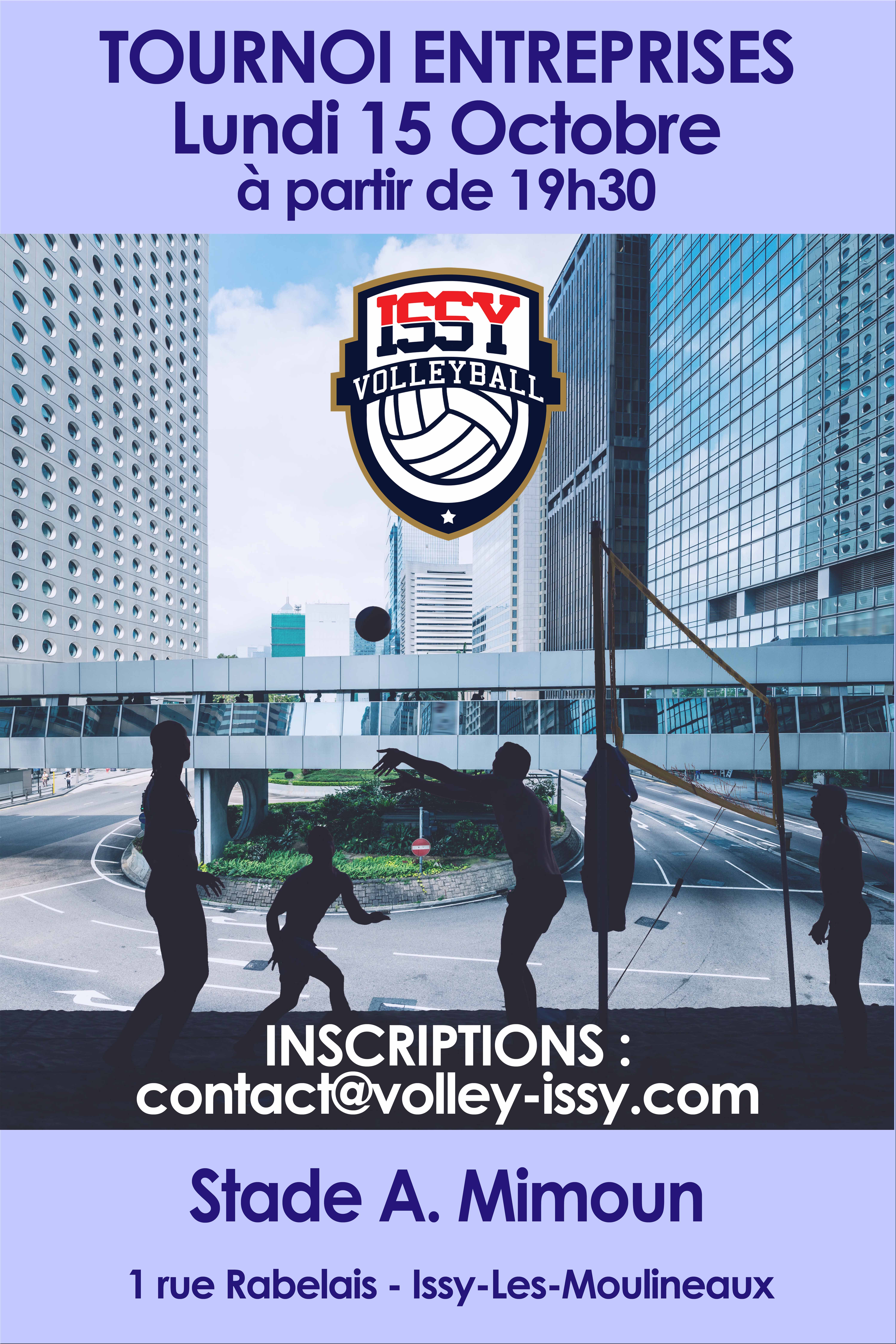 TOURNOI INTER ENTREPRISES LE 15 OCTOBRE 2018